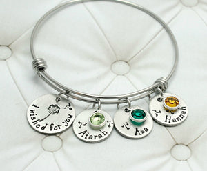 I Wished For You Bangle Bracelet