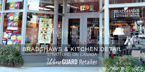 wineguard retailer bradshaws & kitchen detail