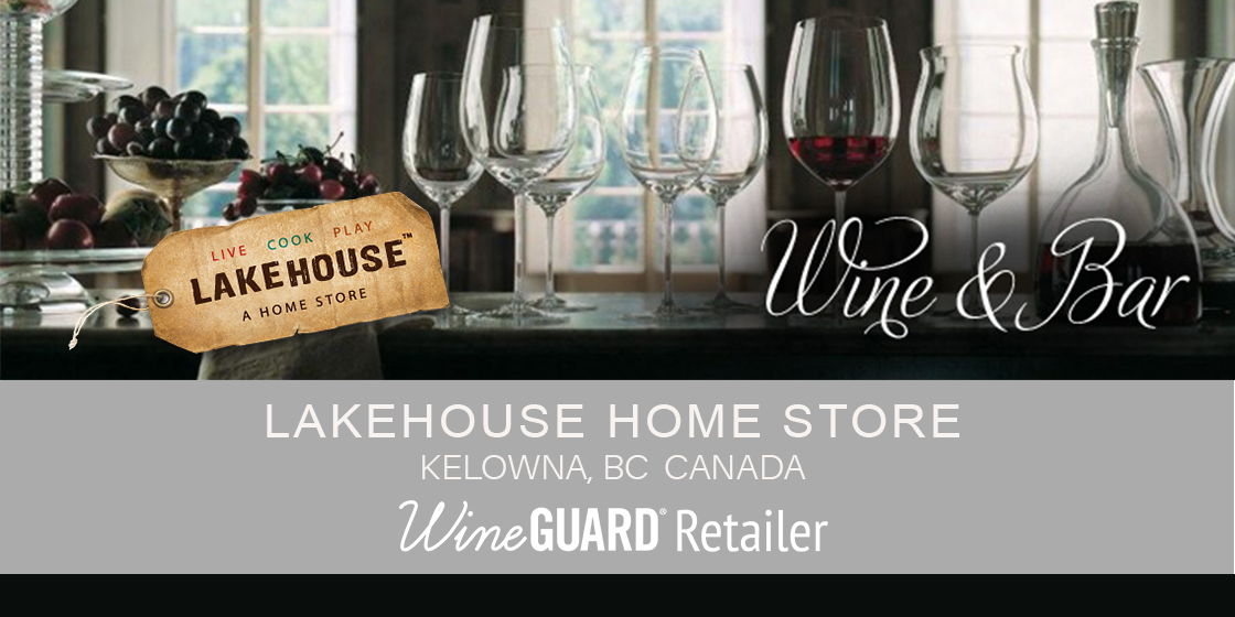 wineguard retailer Lakehouse Home Store