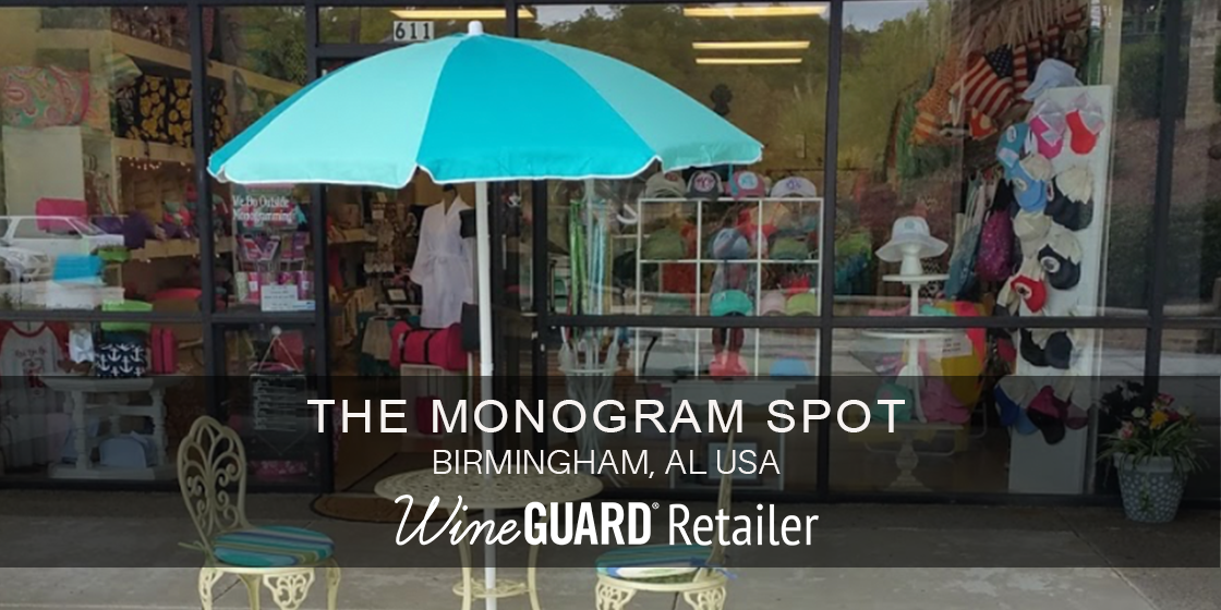 The Monogram spot wineguard retailer
