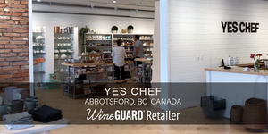 Yes Chef Wineguard Retailer interior image