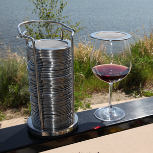 Tower Stand - Wine Glass Cover Holder