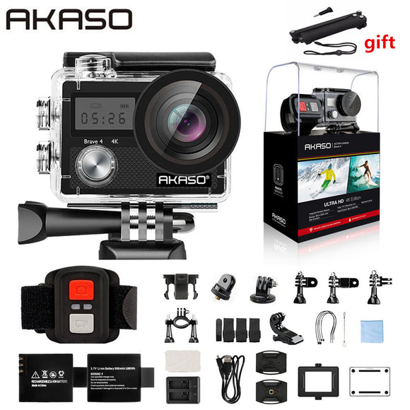 AKASO Brave 4 Action camera Ultra HD 4K WiFi 2.0