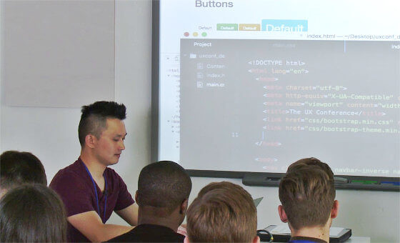 The School of UX Coding in HTML and CSS course