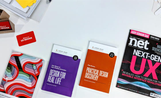 The School of UX design book recommendations