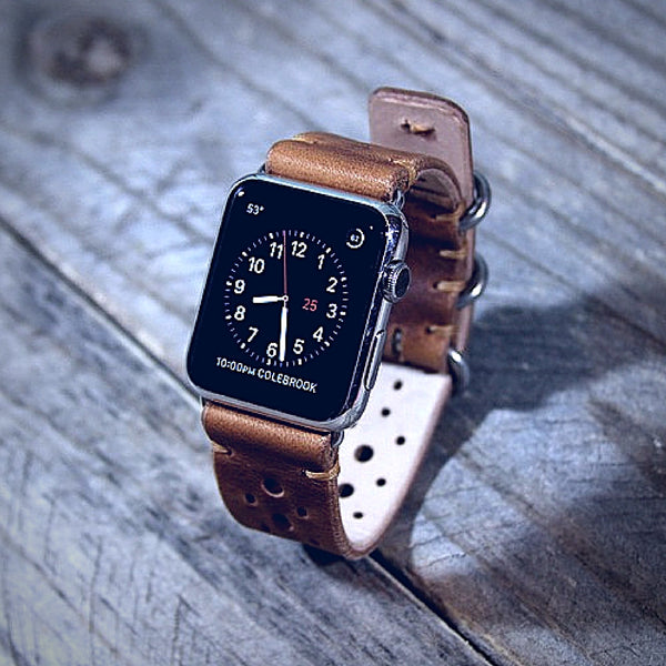 Handcrafted Leather Band for Apple Watch