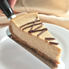 Dark Daisy Cheesecake with Three Kings Sauce