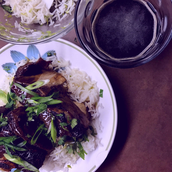 Slow Cooker Beer-Braised Asian Style Short Ribs