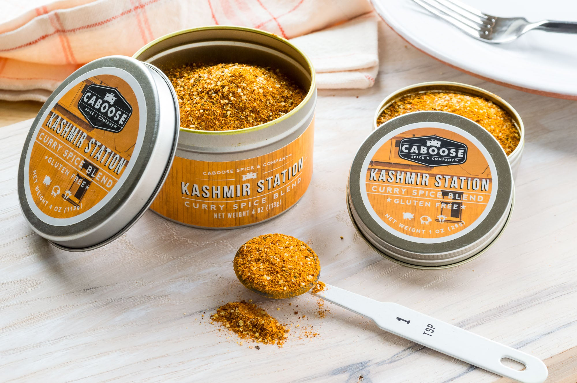 Meet Kashmir Station Curry Spice Blend: Makes Curry Easy!