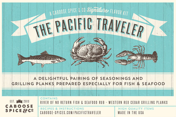 The Pacific Traveler Gift Set - BBQ Spice Set - Grilling Set