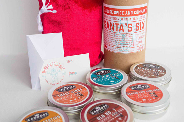 Santa's Six Holiday Gift Set