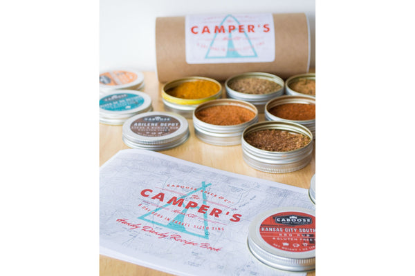 The Camper's Mess Kit: BBQ Rub Set of 6