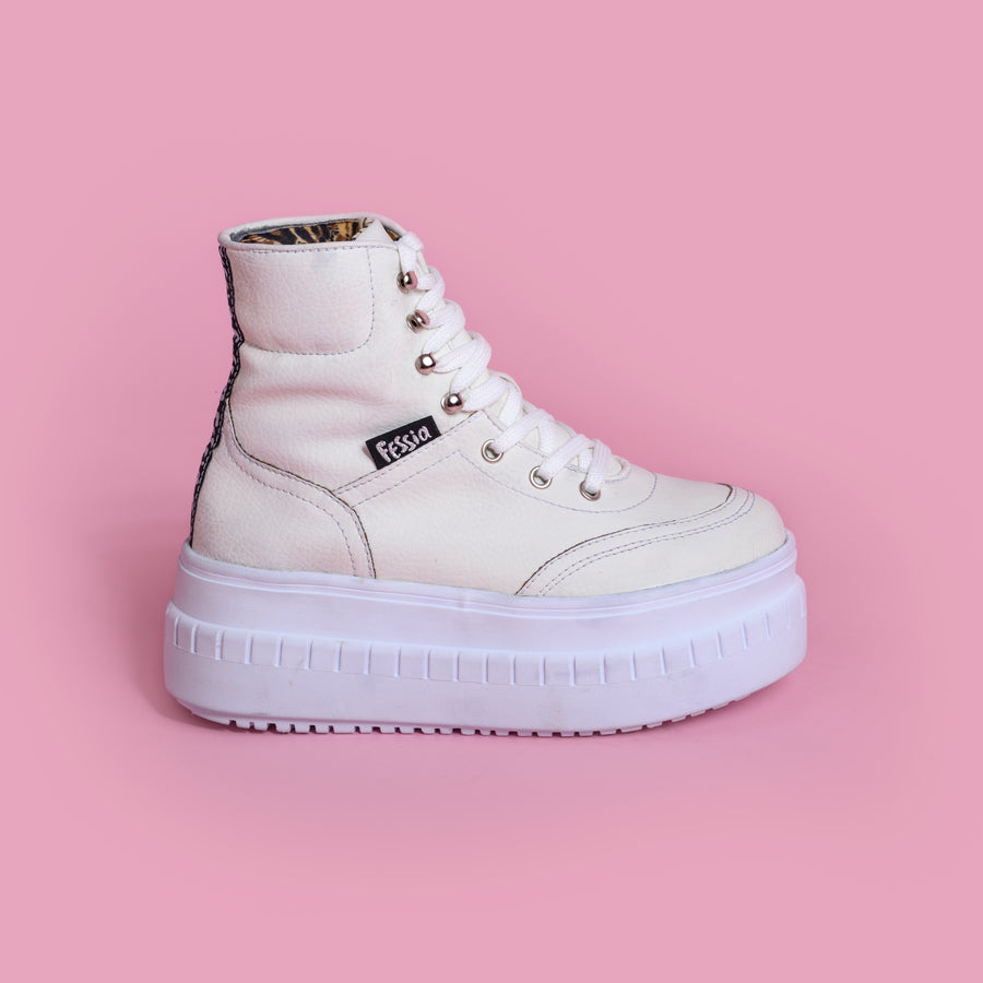 Funky Boot White
