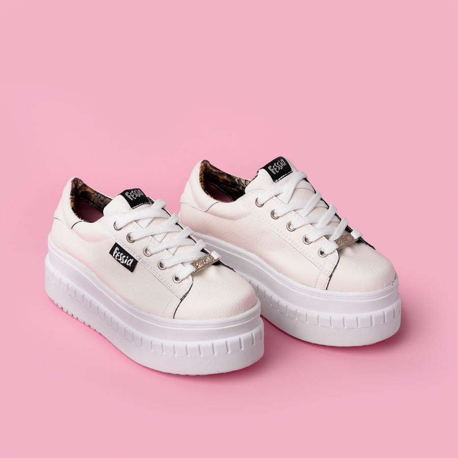 Zapatilla Funky White Basic