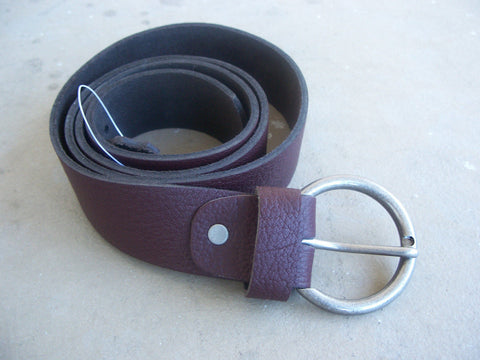 Belt Leather Men WaistBand Belt Genuine Luxury Soft Leather Belt Handmade 39-40""