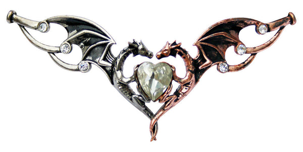 Dragon Heart Hengeband | Draconian Wicca Headband Anne Stokes | Dragon love