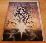 Starbirth Greeting Card Astral Baby Birth of Star Child Peter Pracownik Card