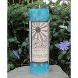 Peace Candle LAVENDER Sage Ylang Ylang Sunbeam Candles Aromatherapy 2x6 Pillar