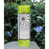 Cleansing Candle Lime Grapefruit Rosemary Sunbeam Candle Aromatherapy 2x6 Pillar