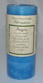 ANGELS Affirmation CANDLE Wiccan Pagan Magick COVENTRY Creations Guidance candle