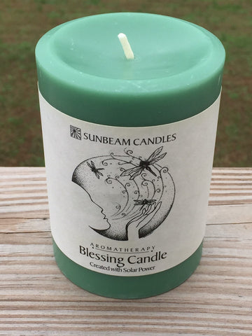 Blessing Candle 3x4 Pillar
