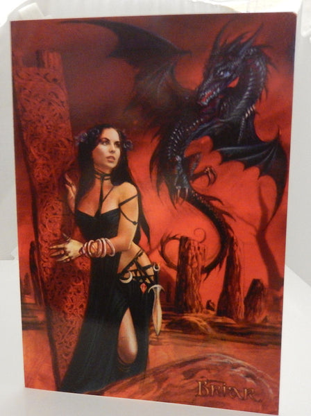 Bride Of The Sabbat Greeting Card By Briar Gothic Witch
