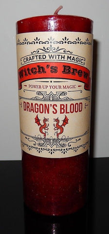 DRAGON'S BLOOD Candle Coventry Creations POWER UP Magick Manifestation Candle