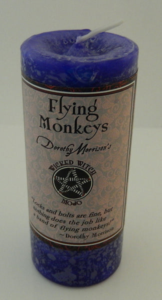 FLYING MONKEY'S MOJO Candle Coventry Creations Wicked Witch Wicca Pagan Magick