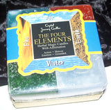FOUR ELEMENTS Candle Gift Set - Crystal Journey 4 CANDLE GIFT SET MAGICK Wicca Pagan
