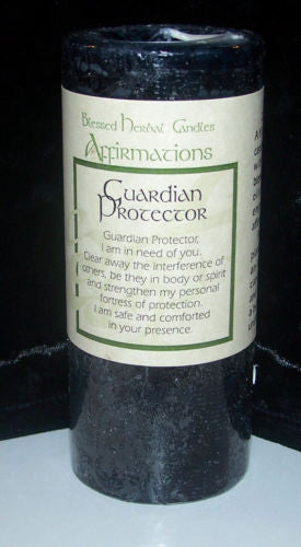 GUARDIAN PROTECTION candle COVENTRY CREATIONS Wiccan Pagan Magick affirmation