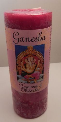 Ganesha Remove Obstacles Candle Coventry Creations Success Manifestation Candle