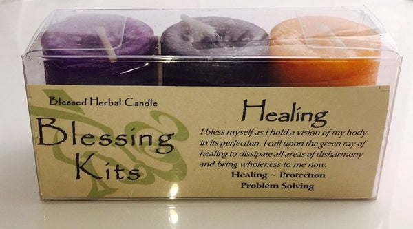 Healing Candles Coventry Creations BLESSING KIT Magick Wicca Pagan votives