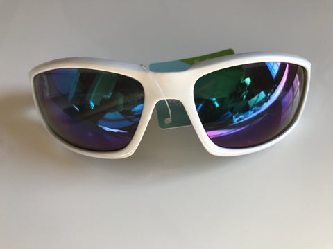 Foster Grant Sunglasses Mens Eye Wear White 100% UVA-UVB Protection Sunglasses Goggle