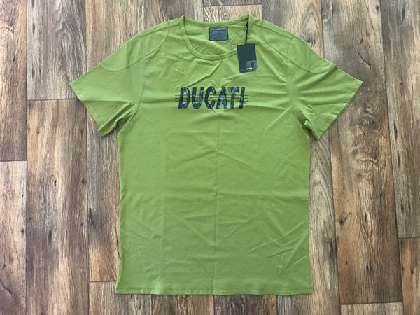 Womens T Shirt Short Sleeve Crew Neck Green Tee Shirt Women Clothing Size XL