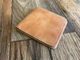 Men Wallet Handmade Bifold Brown Purse Genuine Leather Credit Debit Card Holder ID Wallet