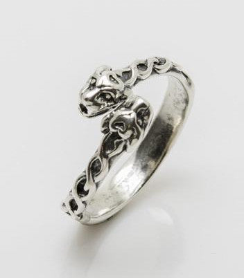 Lion Ring Sterling Silver Celtic Lion