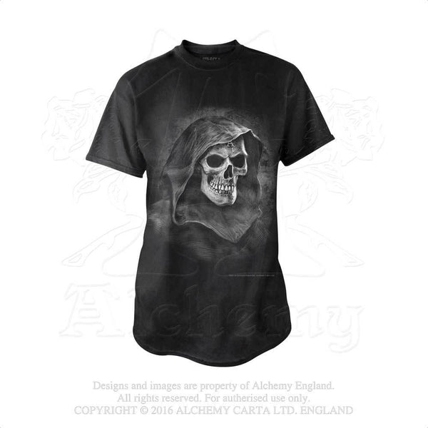 St Leventius Remains T-shirt - Alchemy Gothic Black Cotton Tee Shirt - Brother Mortimus deathless custodian