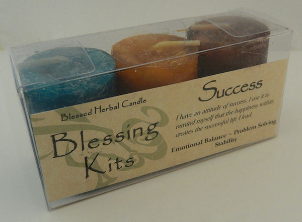Success Candles - Coventry Creations Success BLESSING KIT Magick Wicca Pagan votives