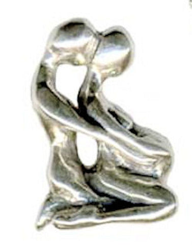 BIRTHMATES Pendant Sterling Silver Pregnant MOTHER with Partner Motherhood birth