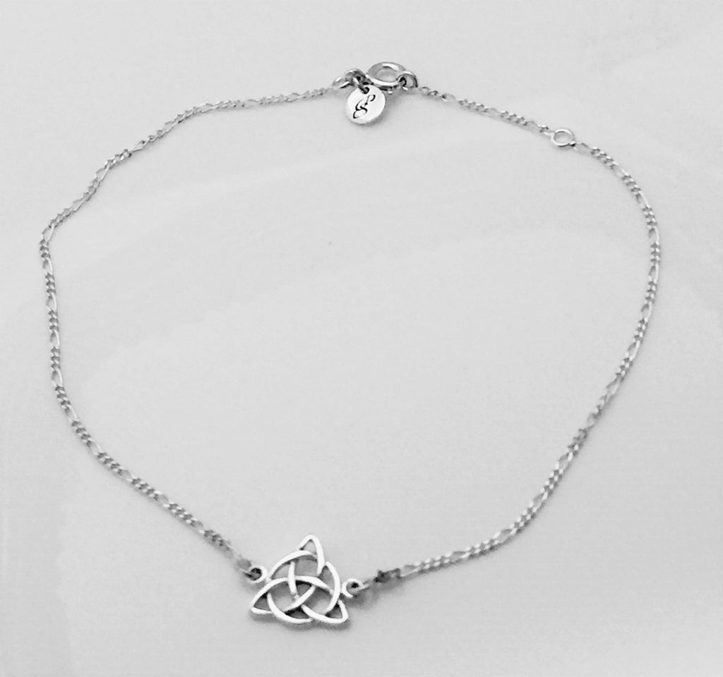 read silver sterling ankles fits oval inch links with filigree pin anklet