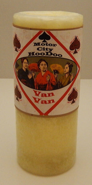 VAN VAN Hoo Doo candle Wiccan Pagan Magick COVENTRY Creations PROTECTION Candle