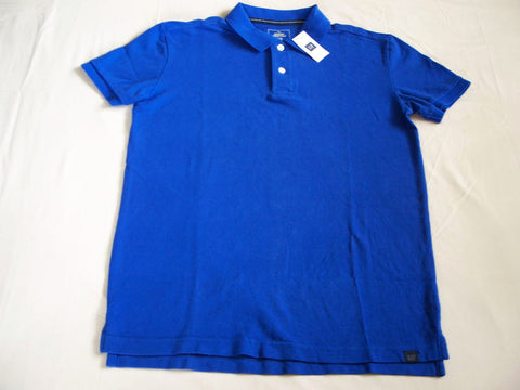 GAP Polo Men New T Shirt The MODERN PIQUE POLO Royal Blue Tee Shirt Size XS Price Tag $29.95