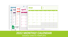 Load image into Gallery viewer, Easy Event Calendar - Google Sheets Template