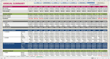 Load image into Gallery viewer, Super Deluxe Budget - Excel Template