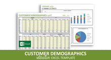 Load image into Gallery viewer, Customer Demographics Report - Excel Template