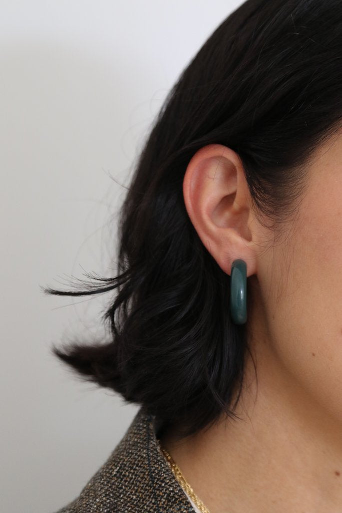Lisbeth Arc Fir Earrings Made in Canada sustainable Victoire