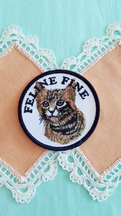 Bruised Tongue Feline Fine Patch