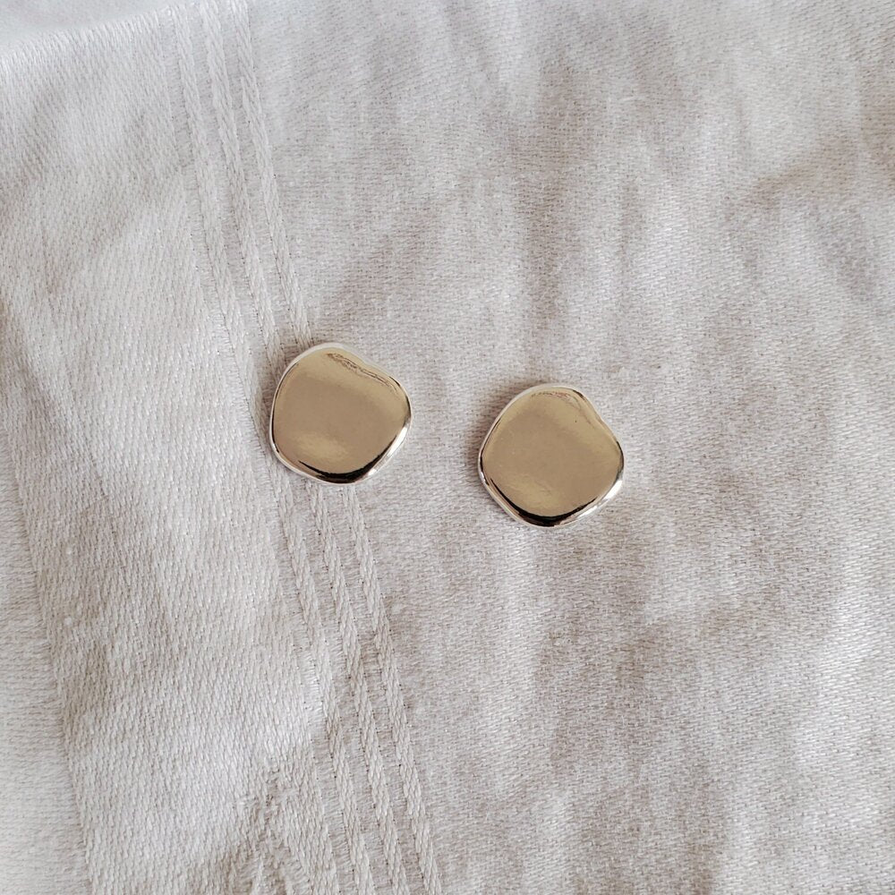 Nepheliad Aruga studs Victoire Boutique made in California recycled sterling silver
