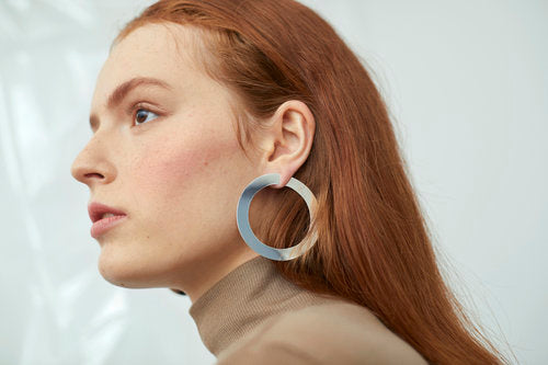 YUUN Octave Hoop Earrings