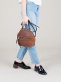 Eleven Thirty Anni Mini Shoulder Bag (Bronze with Front Zipper)
